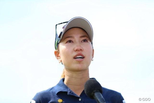 上田桃子は3季ぶりの優勝に涙を流した
