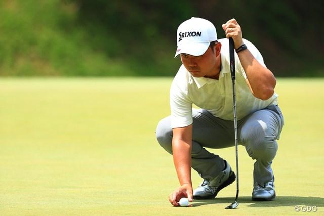 2017年 関西オープンゴルフ選手権競技 最終日 北村晃一 自己ベストで初のトップ10となる4位に入った北村晃一