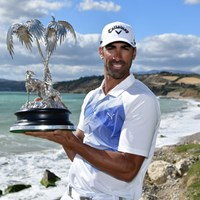プレーオフを制し、6季ぶりの勝利を挙げたアルバロ・キロス(Stuart Franklin/Getty Images) 2017年 ロッコフォルテオープン 最終日 アルバロ・キロス