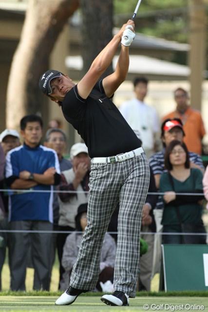永野竜太郎 日本オープン初日 大型新人の永野竜太郎が、日本一を決める大会で3位タイ発進