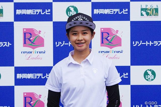 世界のアマチュアタイトルを獲得した立松里奈が日本でツアーデビューする