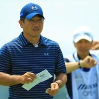 6位発進を決めた増田伸洋。ようやく14本のクラブが固まりつつある 2017年 ~全英への道~ミズノオープン 初日 増田伸洋