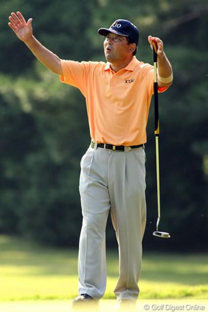 2009年 日本オープンゴルフ選手権競技 初日 中嶋常幸 随所に巧者のゴルフを魅せつけた中嶋常幸