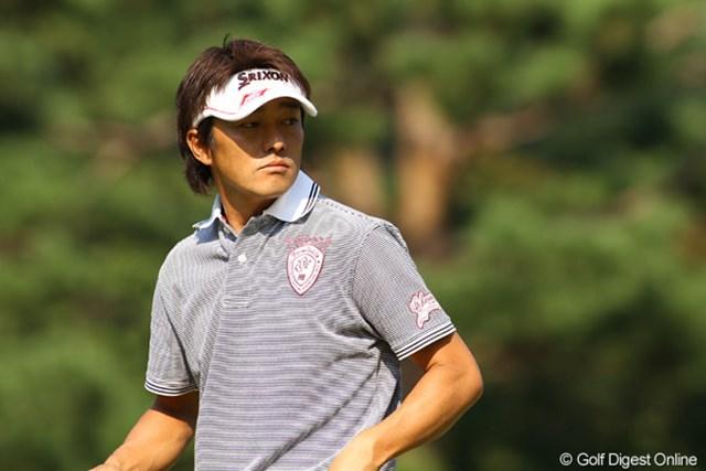 2009年 日本オープンゴルフ選手権競技 初日 山下和宏 ツアー初優勝をメジャーで飾れるか!?35歳の山下和宏
