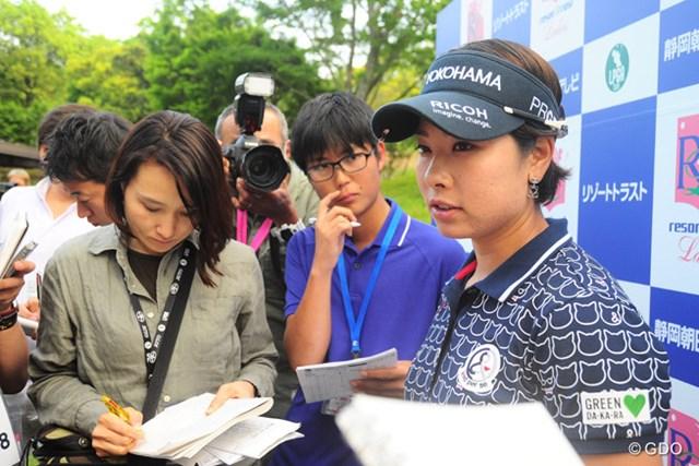 「本当に悲しい」。森田理香子は宮里藍引退の衝撃を口にした