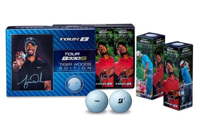 タイガー・ウッズとのボール使用契約を記念して発売される「ツアーB330S タイガー・ウッズ エディション」