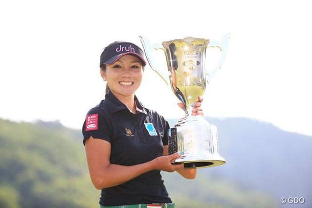 2017年 ヨネックスレディスゴルフトーナメント 事前 ポラニ・チュティチャイ 昨年はポラニ・チュティチャイがツアー初優勝飾った