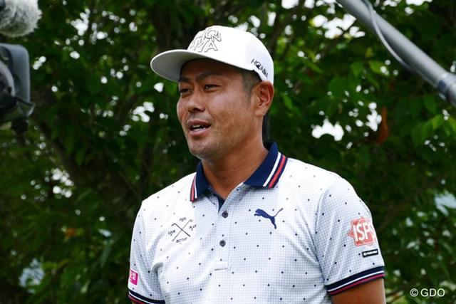 2017年 日本ゴルフツアー選手権 森ビルカップ Shishido Hills 事前 谷原秀人 国内初戦を迎える谷原秀人。表情に疲れもにじむが・・・