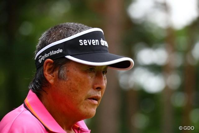2017年 日本ツアー選手権 森ビル杯 Shishido Hills 初日 尾崎将司 よく考えてみよう。もう70歳なのに凄いよね。