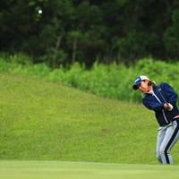 ホステスプロは今日はバーディーなしの5オーバー 2017年 ヨネックスレディスゴルフトーナメント 2日目 若林舞衣子