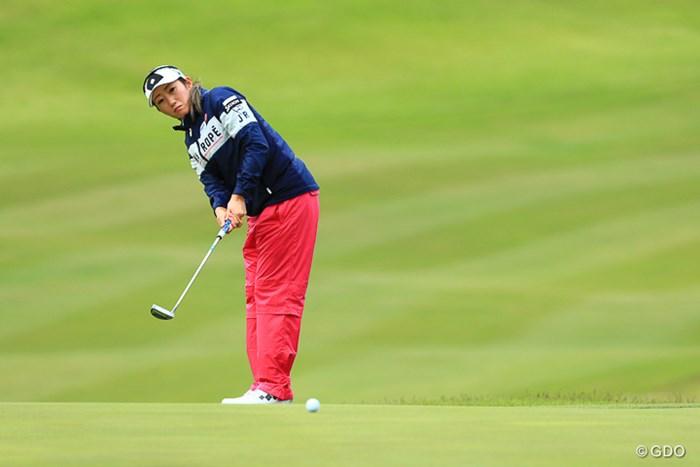 初っぱな連続ボギーだったが、終わってみれば2位T 2017年 ヨネックスレディスゴルフトーナメント 2日目 飯島茜