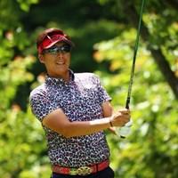 その色の豹がいたらカッコいいな。 2017年 日本ツアー選手権 森ビル杯 Shishido Hills 3日目 J・チョイ