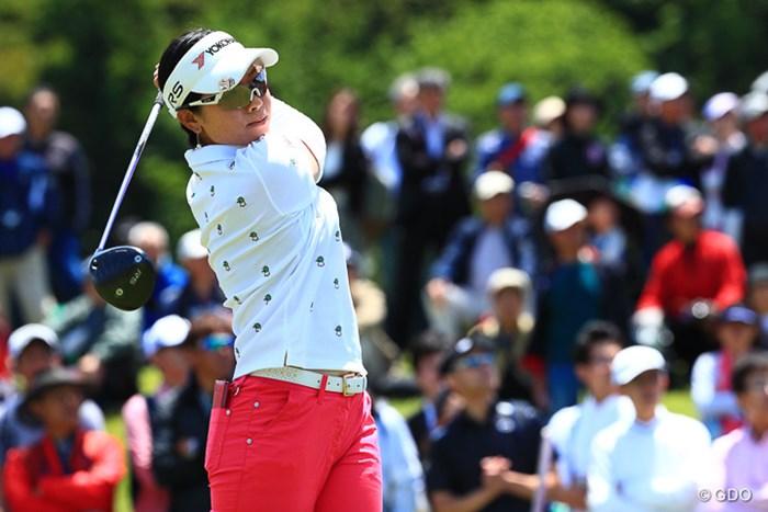 森田理香子は32位で終戦。いきなりのOBが大きく響く結果に 2017年 ヨネックスレディスゴルフトーナメント 最終日 森田理香子