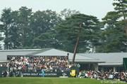 2009年 日本オープンゴルフ選手権競技 3日目 石川遼 1番ホールティショット