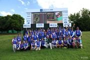 2017年 日本ツアー選手権 森ビル杯 Shishido Hills 最終日 ボランティア