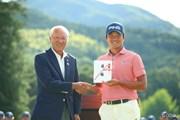 2017年 日本ツアー選手権 森ビル杯 Shishido Hills 最終日 永野竜太郎