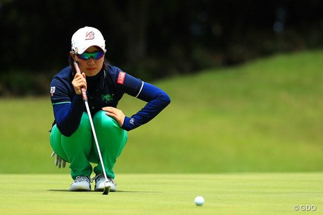 2017年 ヨネックスレディスゴルフトーナメント 最終日 蛭田みな美 後半に加速し、自己ベストの2位と健闘した蛭田みな美