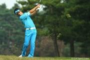 2009年 日本オープンゴルフ選手権競技 3日目 石川遼 ラフ
