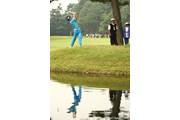 2009年 日本オープンゴルフ選手権競技 3日目 石川遼 池