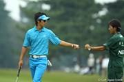 2009年 日本オープンゴルフ選手権競技 3日目 石川遼 ジャンケン
