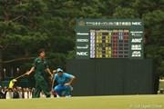 2009年 日本オープンゴルフ選手権競技 3日目 石川遼 トップタイ