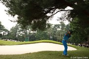 2009年 日本オープンゴルフ選手権競技 3日目 石川遼 13番サードショット