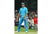 2009年 日本オープンゴルフ選手権競技 3日目 石川遼 釣り