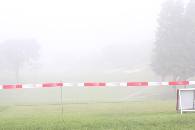 2017年 ISPSハンダグローバルチャレンジカップ 2日目 コース 「ISPSハンダグローバルチャレンジカップ」大会2日目は濃霧のため中止となり、36H短縮が決定した※画像:大会提供