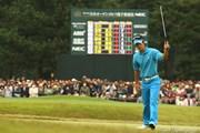 2009年 日本オープンゴルフ選手権競技 3日目 石川遼 18番バーディ