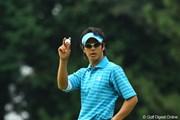 2009年 日本オープンゴルフ選手権競技 3日目 石川遼 応援ありがとう