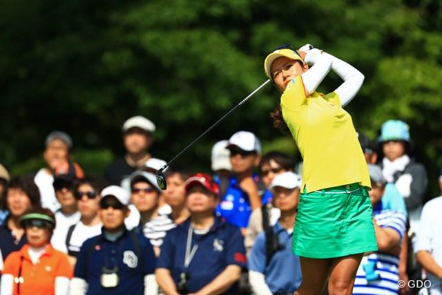 2017年 サントリーレディスオープンゴルフトーナメント 3日目 宮里藍 宮里藍は通算1アンダーで3日目を終えた