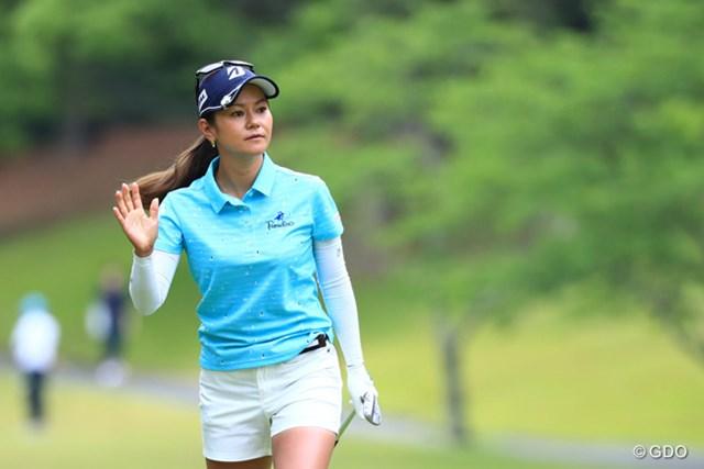 2017年 サントリーレディスオープンゴルフトーナメント 最終日 宮里藍 宮里藍がハーフターン。大ギャラリーに残り9ホールで魅せる