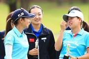 2017年 サントリーレディスオープンゴルフトーナメント 最終日 宮里藍 勝みなみ
