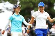 2017年 サントリーレディスオープンゴルフトーナメント 最終日 宮里藍 成田美寿々