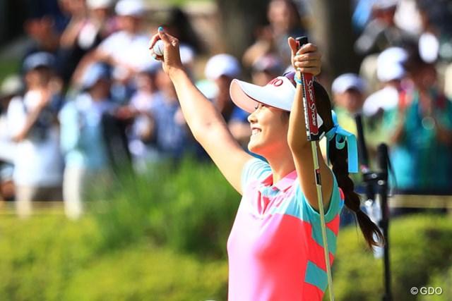 2017年 サントリーレディスオープンゴルフトーナメント 最終日 キム・ハヌル 今季3勝目。今年のキム・ハヌルは強い!