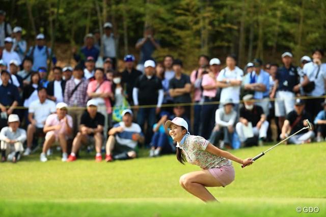 2017年 サントリーレディスオープンゴルフトーナメント 最終日 堀琴音 惜敗した堀琴音。それでも着実に初勝利の瞬間は近づいている