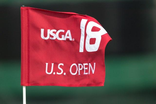 2017年 全米オープン 事前 フラッグ 2017年の全米オープンはエリンヒルズで15日に開幕する※画像提供:USGA