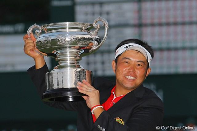 小田龍一/日本オープン最終日 ツアー初優勝をメジャー大会の日本オープンで達成した小田龍一
