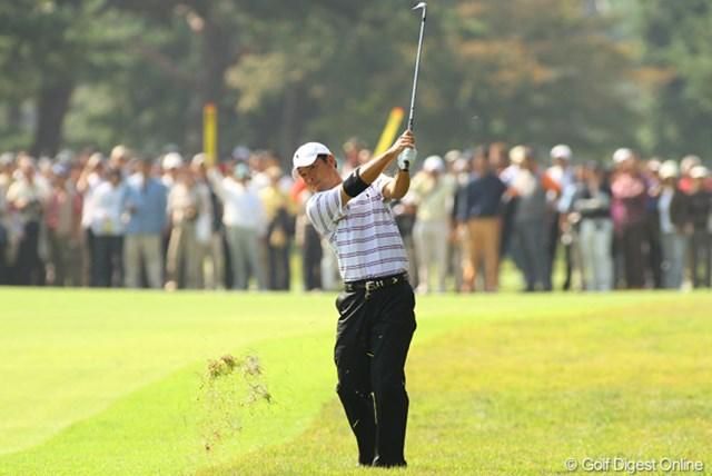 今野康晴/日本オープン最終日 粘り強いゴルフでプレーオフまで進出した今野康晴