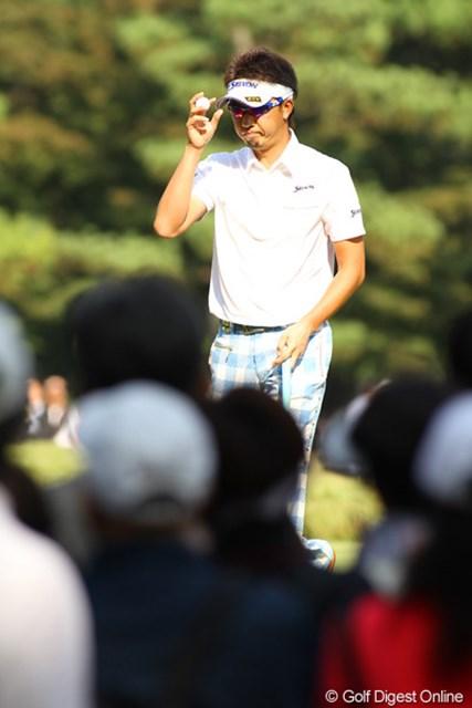 2009年 日本オープンゴルフ選手権競技 最終日 星野英正 前半3連続ボギーで、一時は沈んだ星野英正。後半挽回し6位タイは立派です!