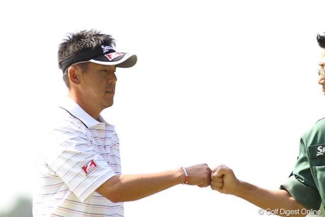 2009年 日本オープンゴルフ選手権競技 最終日 宮瀬博文 4位タイと健闘した宮瀬博文。4日間リラックスした雰囲気が良かったかも・・・・??