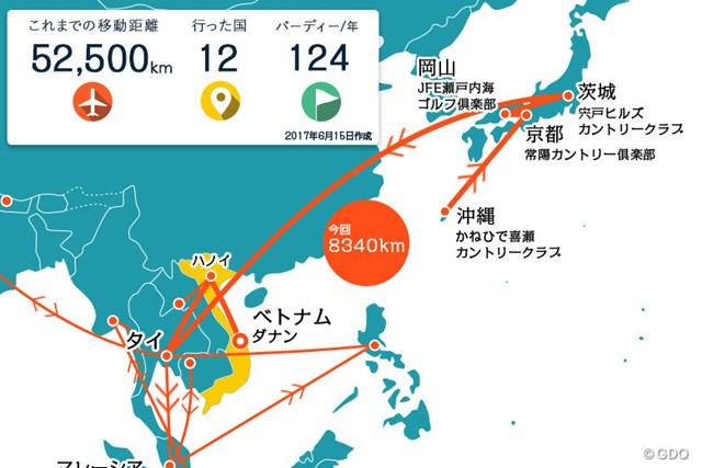 2017年 クイーンズカップ 事前 川村昌弘マップ 日本での連戦を終えて再び東南アジアへ!