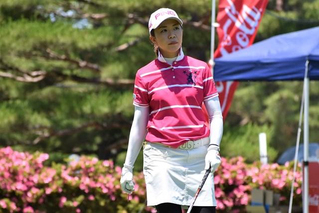 1打差2位につけた上野藍子は2006年の新人戦優勝者だ ※大会提供写真