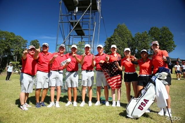 男女団体、個人総なめのアメリカチーム