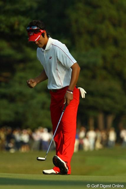 2009年 日本オープンゴルフ選手権競技 最終日 石川遼17番バーディ 「ヨッシャァ~~~~!!!まだまだ諦めないぜっ!!」