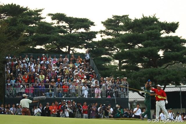 2009年 日本オープンゴルフ選手権競技 最終日 小田龍一 「まさか・・・初優勝がメジャーでイイですか?」