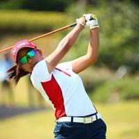 日本のトップスタートは佐渡山選手。 2017年 トヨタ ジュニアゴルフワールドカップ 最終日 佐渡山理莉