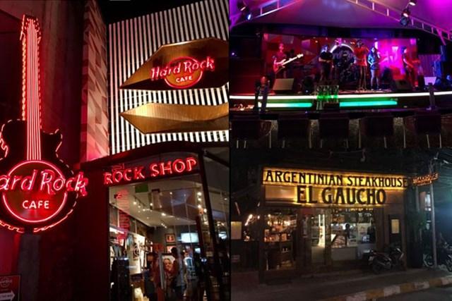 完全に都会だったサムイの市街地。ハードロックカフェもあったりするし・・・