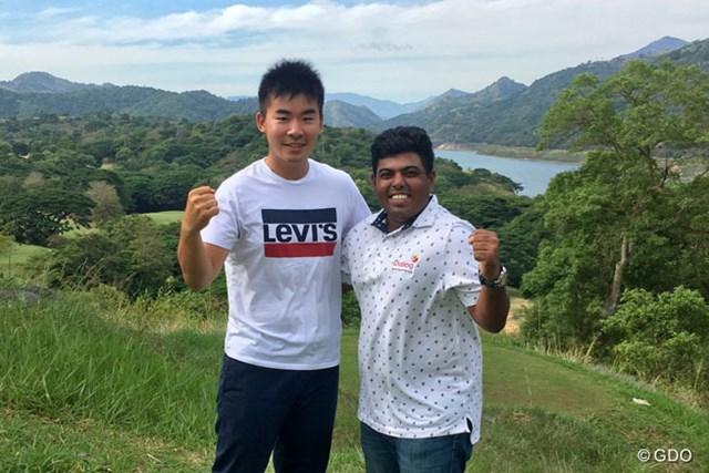 2017年 クイーンズカップ 事前 川村昌弘 ミスン・ペレラ スリランカへやってきた!アジアンツアーでできたプロ仲間、ペレラ選手がナビゲーターです