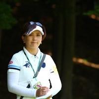 茂木さんがラウンドレポーターの予選ラウンド。 2017年 アース・モンダミンカップ 2日目 茂木宏美
